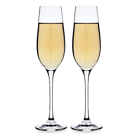 Maxwell & Williams™ Bubbles Galore Flutes (Set of 2)