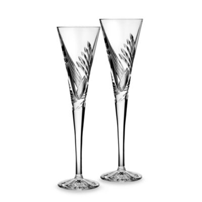 Waterford® Crystal Wishes Beginnings Flute (Set of 2)