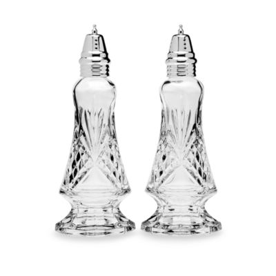 Godinger Dublin Crystal Salt & Pepper Set
