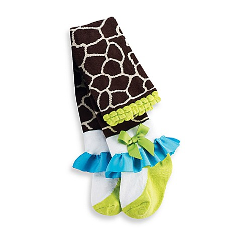 Mud Pie™ Giraffe Tights - 0 - 6 Months