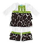 Mud Pie™ Giraffe 2-Piece Disco Set