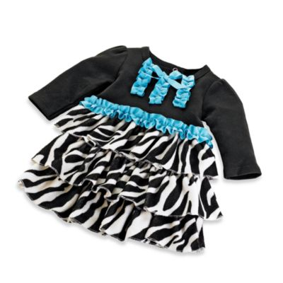 Mud Pie™2T/3T Zebra Dress