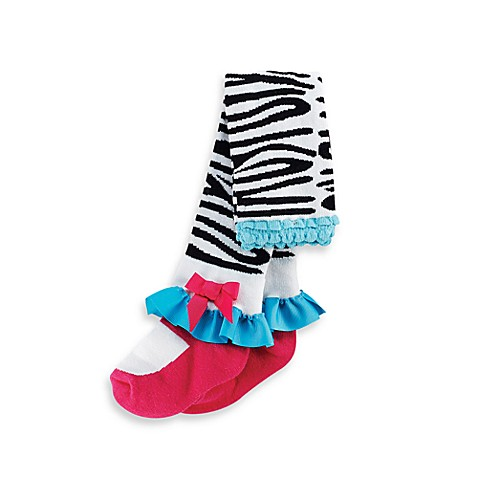 Mud Pie™ Zebra Tights - 12 - 18 Months