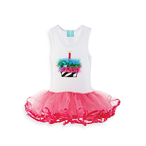 Mud Pie™ Zebra TuTu Dress - 12 - 18 Months
