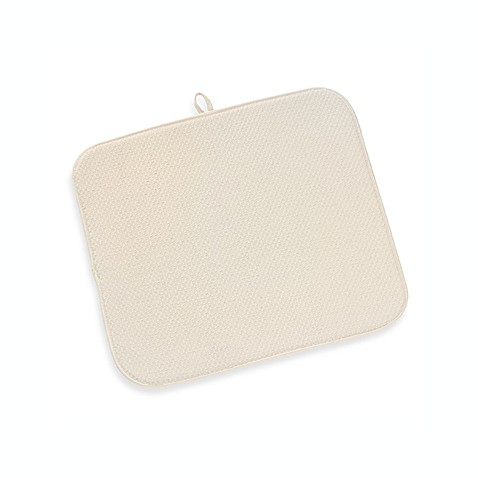The Original™ Dish Drying Mat in Cream