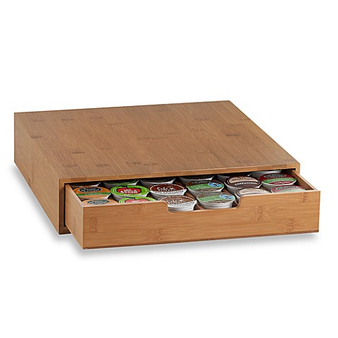 Bamboo Coffee Pod Drawer Bed Bath Amp Beyond