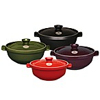 Emile Henry Flame® Top 2.5-Quart Risotto Pots