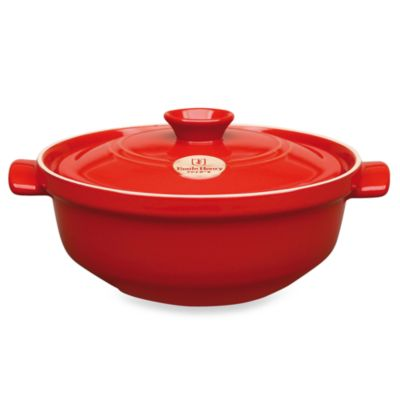 Emile Henry® Flame Top 2.5-Quart Risotto Pot in Red