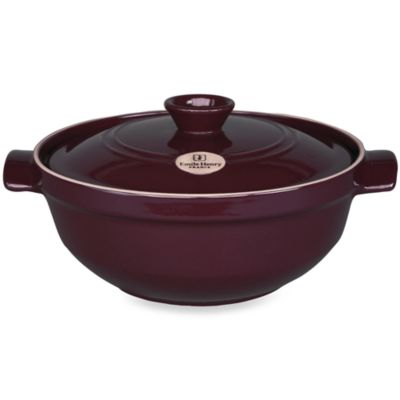 Emile Henry® Flame Top 2.5-Quart Risotto Pot in Figue