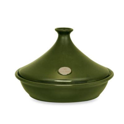 Emile Henry Flame® 2.6-Quart Ceramic Tagine in Olive