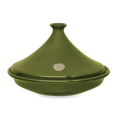 Emile Henry Flame® 14 1/2-Inch 3.7-Quart Ceramic Tagine in Olive