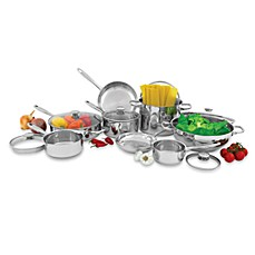 Wolfgang Puck® Stainless Steel 14 Piece Cookware Set