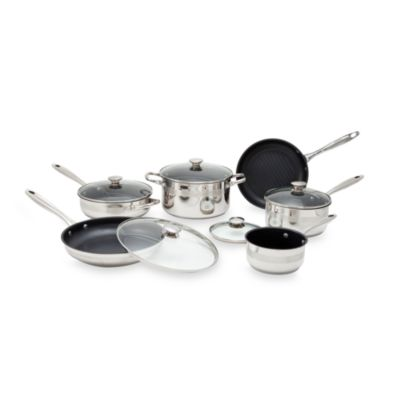 Wolfgang Puck® 11 Piece Nonstick Cookware Set