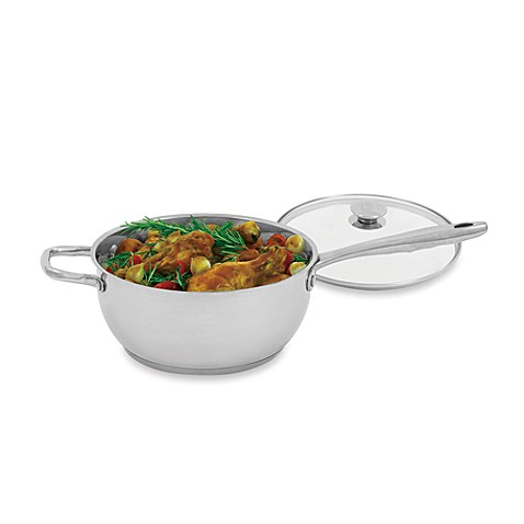 Buy Wolfgang Puck® Stainless Steel 4 Quart Covered Multi Pot from Bed ...