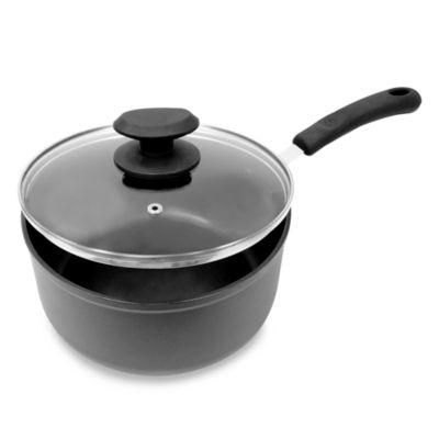 Symphony ECOlution Nonstick 3-Quart Sauce Pan with Lid