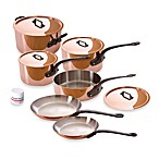 Mauviel 1830 M'heritage 150c Copper 10-Piece Cookware Set