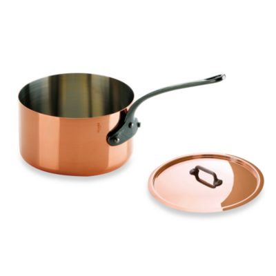 Corrosion Resistant Covered Saucepan