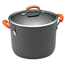 Rachael Ray Hard Anodized 10-Quart Covered Stock Pot