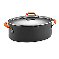 Rachael Ray Hard Anodized 8-Quart Covered Pasta Pot