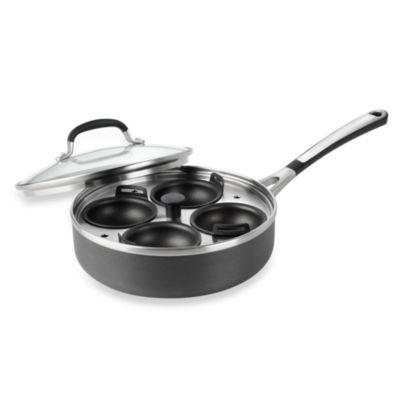 Calphalon® Simply Calphalon Nonstick 4-Cup Egg Poacher with Cover