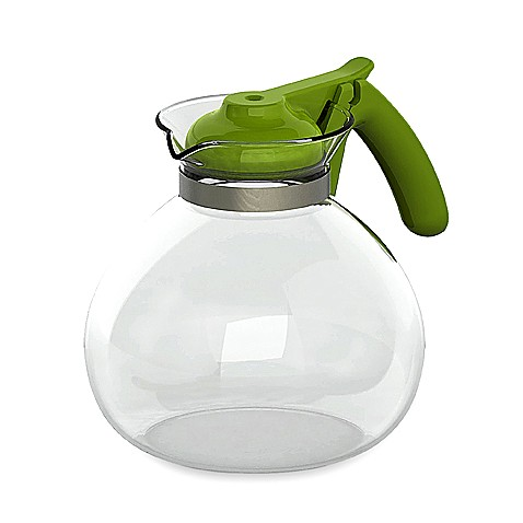 Primula® 2-Quart Glass Stovetop Whistling Kettle