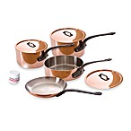 Mauviel 1830 M'heritage 150c Copper 7-Piece Cookware Set