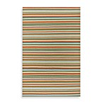 Surya B. Smith Sag Harbor Rug in Red Stripe