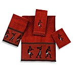 Avanti Kokopelli Bath Towel Collection in Copper