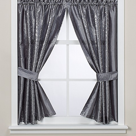 infinity bathroom window curtain panels bed bath beyond