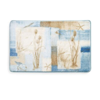 Blue Water Bath Rug