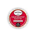 K-Cup® 18-Count Twinings® Decaffeinated English Breakfast Tea for Keurig® Brewers