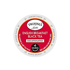 Keurig® K-Cup® Pack 18-Count Twinings of London® Decaffeinated English Breakfast Tea