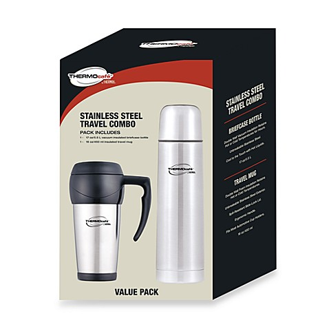 Thermos THERMOcafe™ Stainless Steel Travel Combo