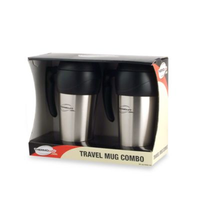 Thermos THERMOcafe™ Foam Insulated 16-Ounce Travel Mugs (Set of 2)