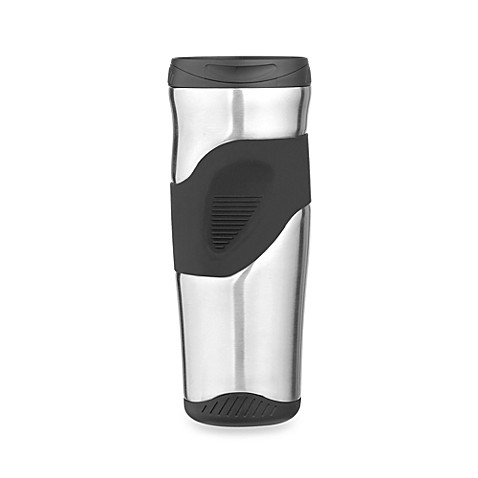 Thermos® Stainless Steel Insulated 16-Ounce Travel Tumbler