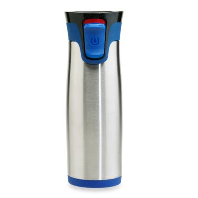 Contigo® Autoseal® Aria Stainless Steel 16-Ounce Travel Mug in Blue