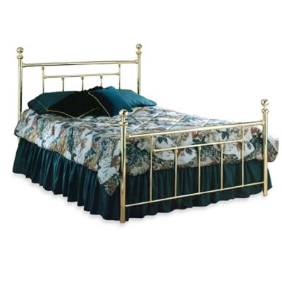 Hillsdale Chelsea Complete Bed in Brass