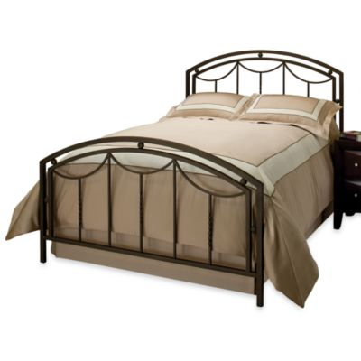Hillsdale Arlington Queen Complete Bed in Bronze