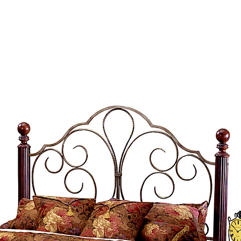Hillsdale Ardisonne Poster Full/Queen Headboard with Rails
