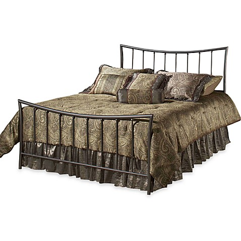 Hillsdale Edgewood Complete Bed in Magnesium Pewter