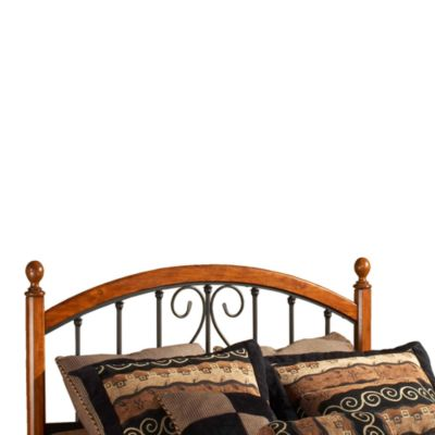 Hillsdale Burton Way Queen Headboard with Rails