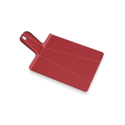 Joseph Joseph® Chop2Pot™ Plus Large Folding Chopping Board in Red