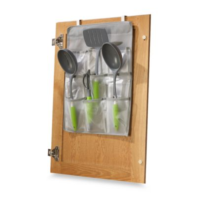 Over-The-Cabinet-Door Gadget Pockets