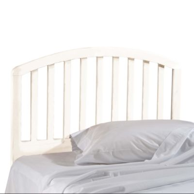 Hillsdale Carolina Full/Queen White Headboard with Rails