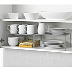 Metal Mesh 2-Piece Expandable Cabinet Shelf Set