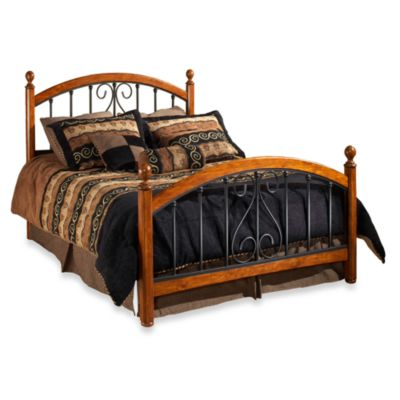 Hillsdale Burton Way Full Complete Bed in Cherry