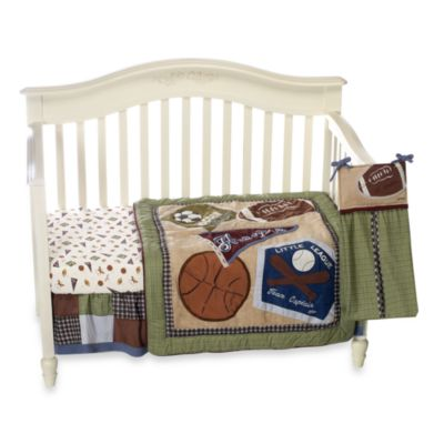 CoCaLo™ Sports Fan 8-Piece Crib Bedding