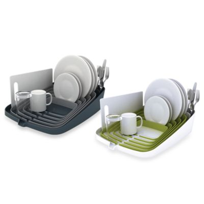 Joseph Joseph® Arena Self-Draining Dish Rack in Green