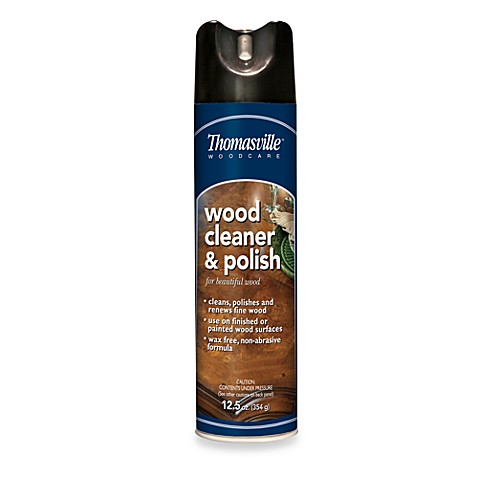Buy Thomasville Wood Cleaner Polish In 12 Ounce Aerosol From Bed Bath Beyond
