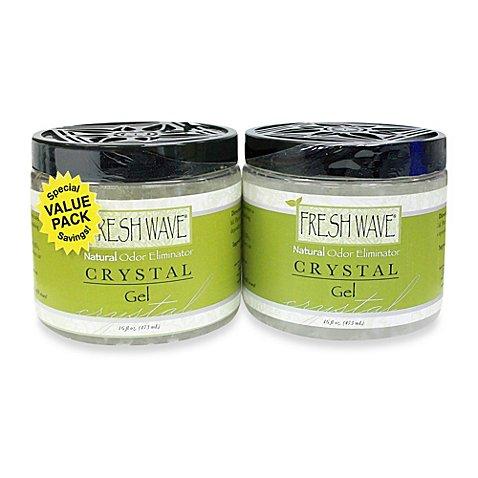 fresh wave 2 pack odor eliminator 16 ounce gel bed bath. Black Bedroom Furniture Sets. Home Design Ideas
